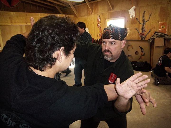 Guru Jeff Davidson with Guru Doug Marcaida